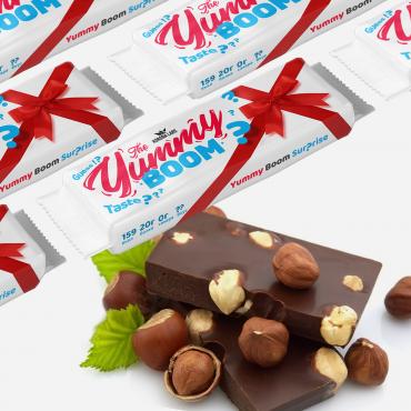 Yummy Boom Surprise Шоколад+фундук