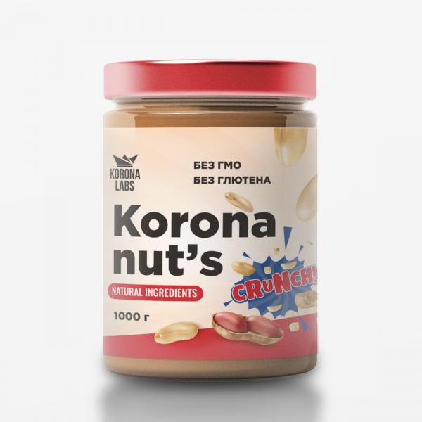 Арахисовая паста Korona Nut's 1000г