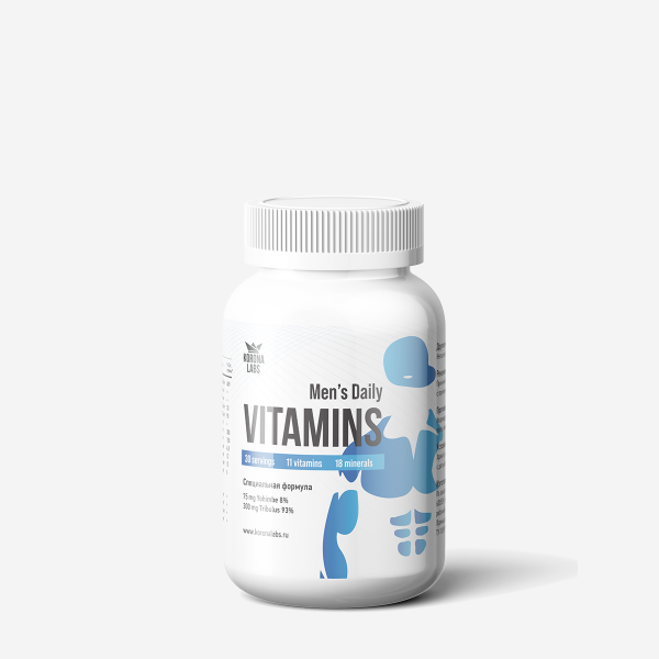 Vitamins Men's Daily