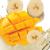Манго и банан